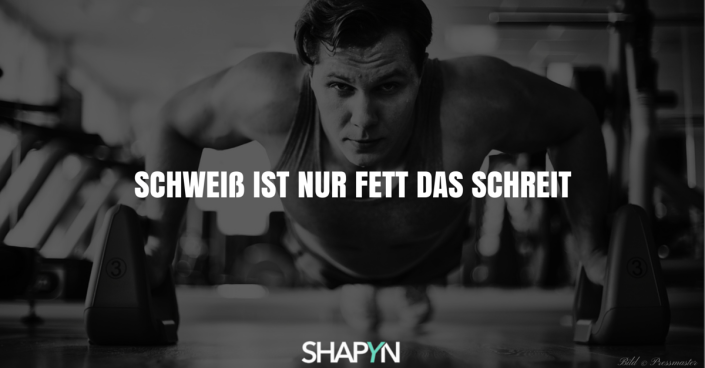 Fitness Motivation Bild
