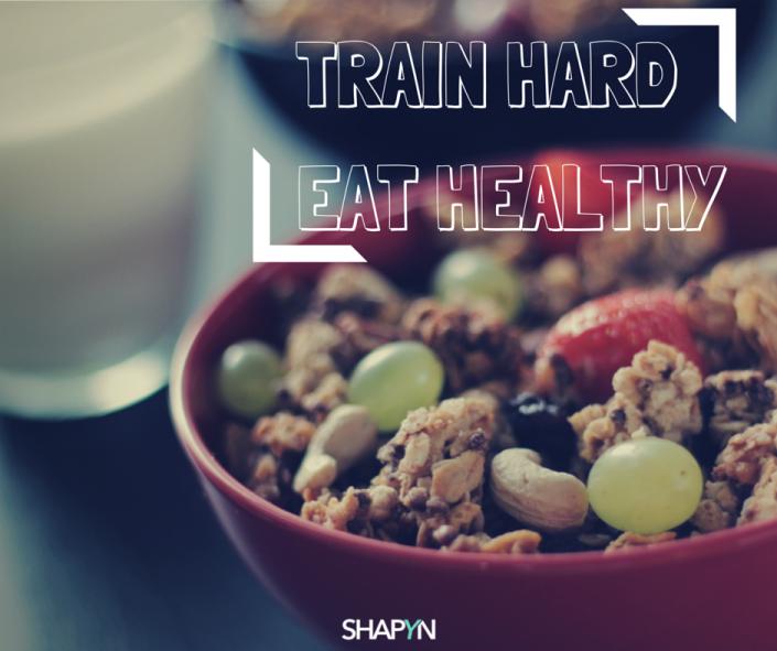Ernährung und hartes Training