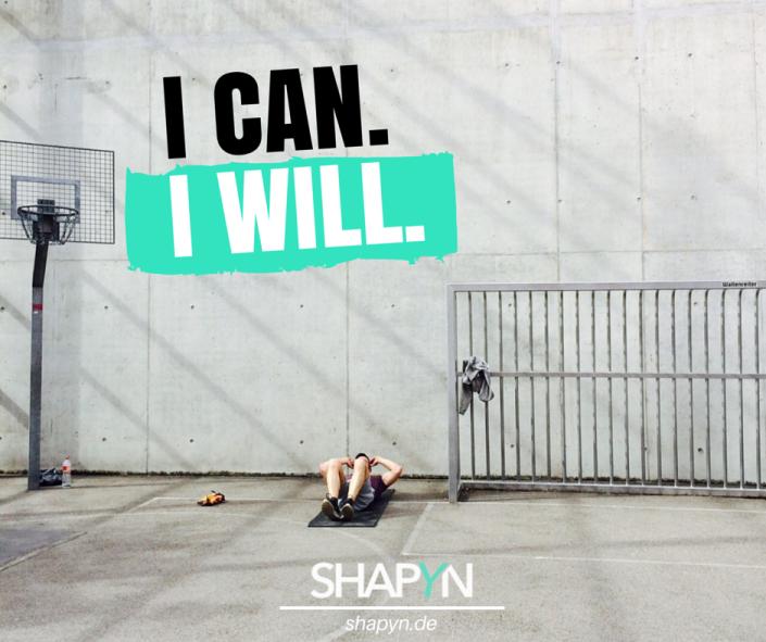 I kann. Ich werde