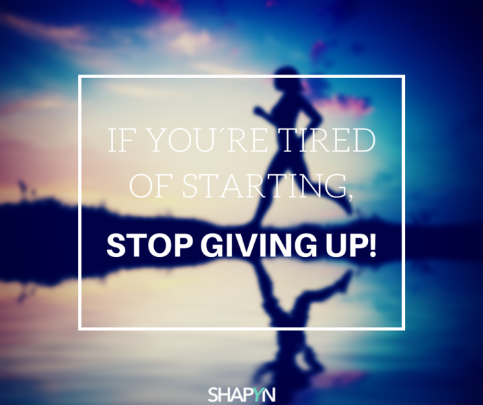 Niemals aufgeben