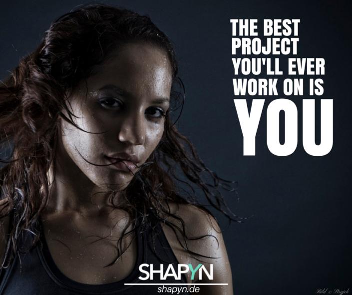Das beste Projekt an dem du je arbeiten wirst, bist du selbst