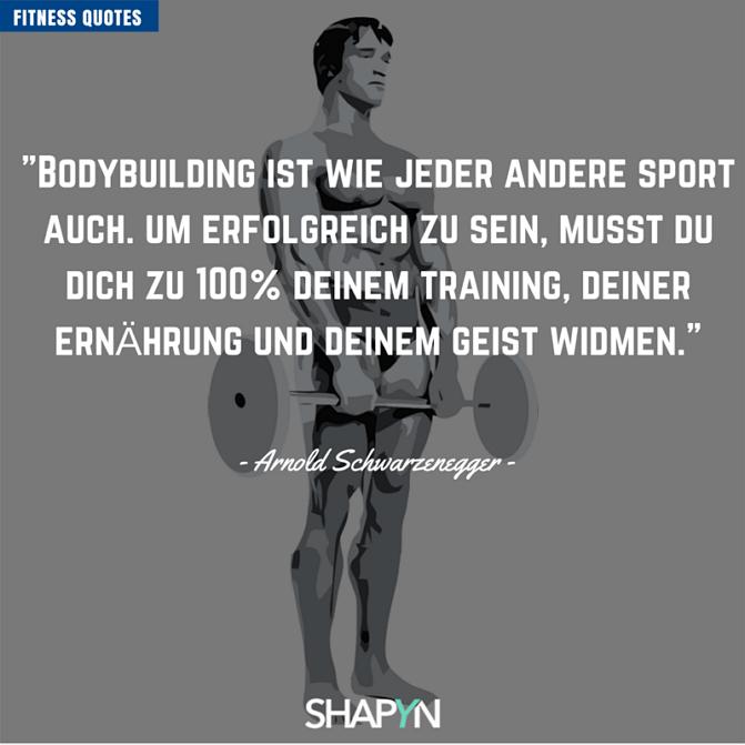 Bodybuilding ist wie jeder andere Sport