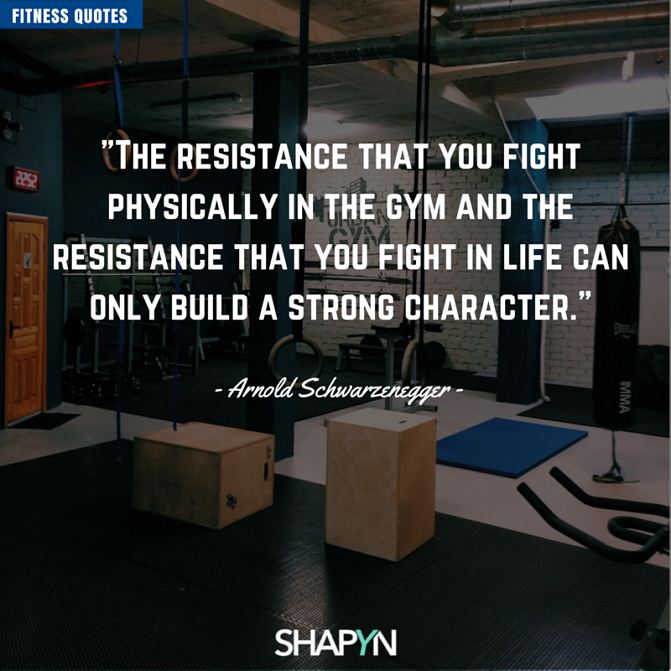 resistance you fight in life