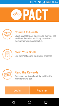 Pact App Gamification Fitness