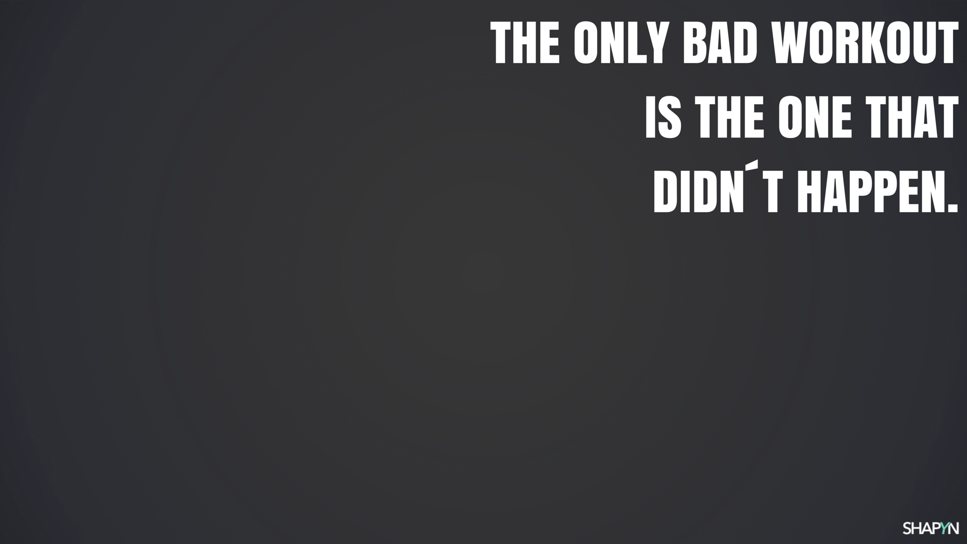 the only bad workout dunkel hd 1920 x 1080