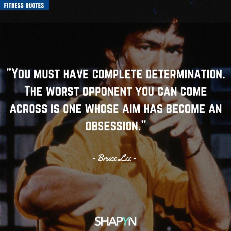 Schönes Bruce Lee Zitat