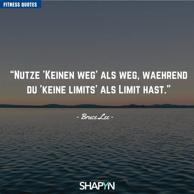Keine Limits sind dein Limit