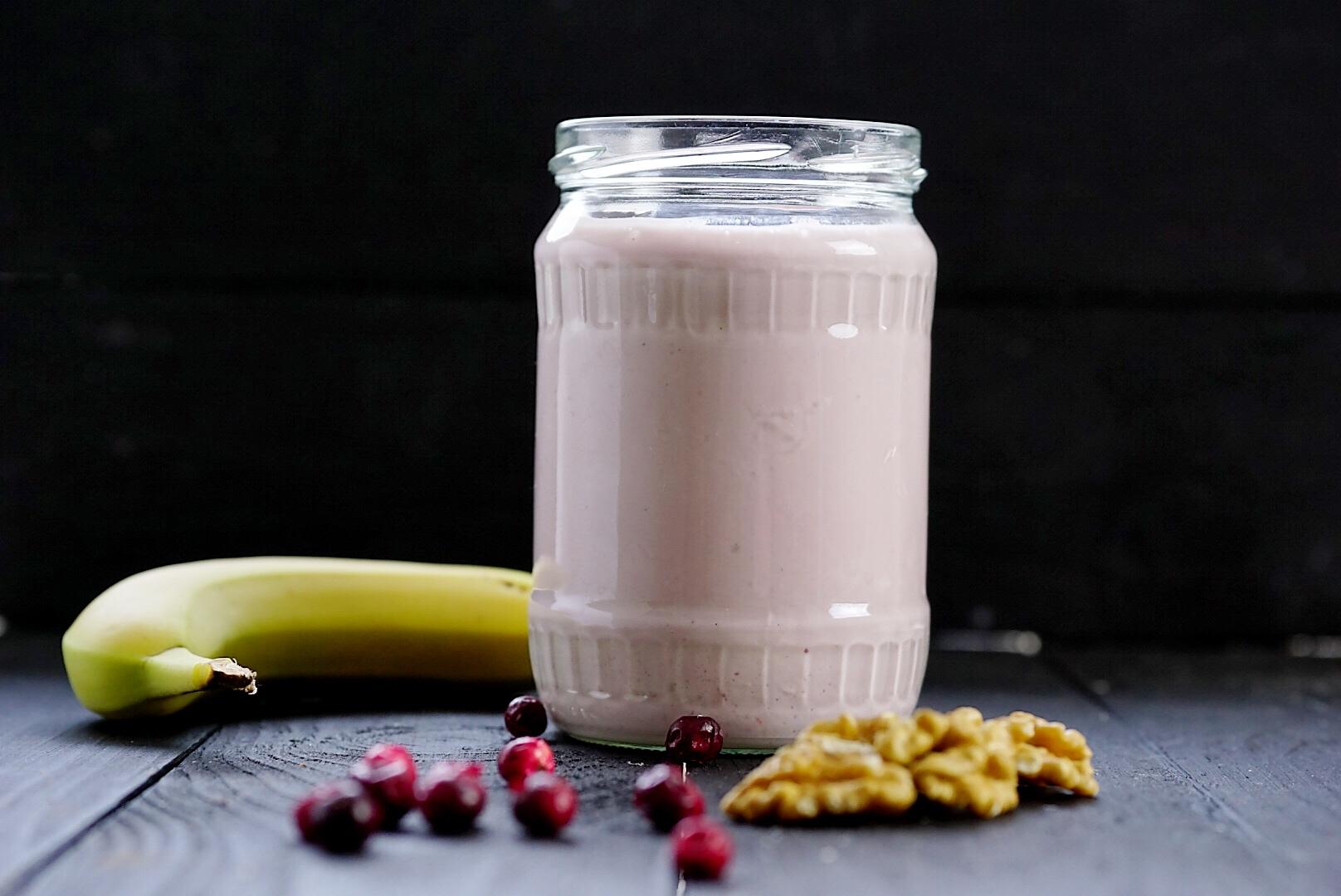Rezept für Quark Shake für Muskelaufbau